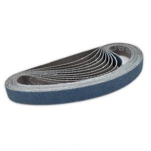 Melomotive Sanding Belt 80 GRIT 10x330mm (10 pack)