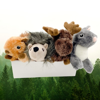 All For Paws Woodland Classic Animals Toy Pack