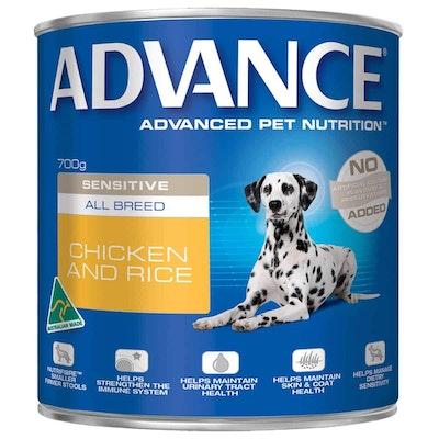 Advance Sensitive Adult Chicken & Rice Wet Dog Food