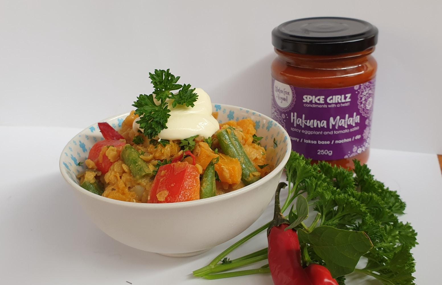 Spice Girlz Gourmet's | Pumpkin & Red Lentil Curry