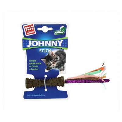 GIGWI Johnny Stick Coloured Paper With Catnip