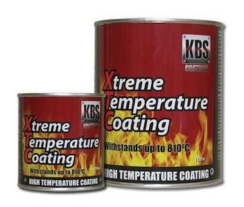 Xtreme Temp Coating ALUMINIUM 500ml High Heat Resistant 260°C - 812°C xtc