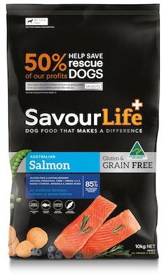 Savourlife Grain Free Adult Salmon 10kg