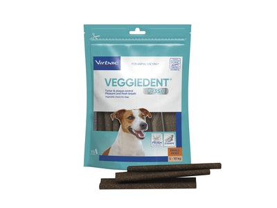 Virbac VeggieDent FR3SH Small Dog 15 Chews