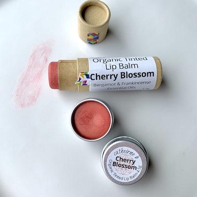 Catherine B Cherry Blossom - Tinted Organic Lip Balm