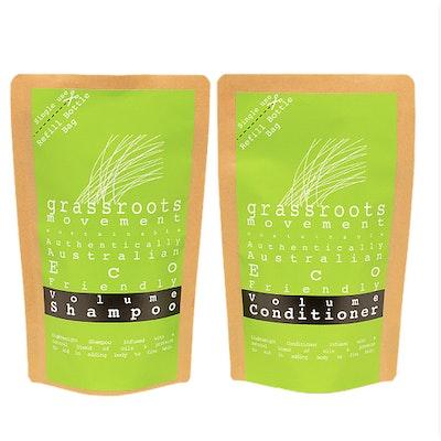 Grassroots Movement Australia DUO Pack Volume Shampoo & Conditioner