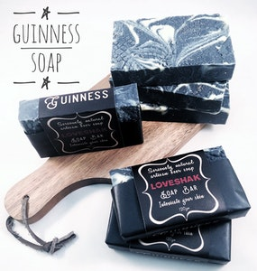 Loveshak Soap Bar - Guinness