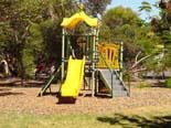 Playground for the  kids at BIG4 Port Willunga Tourist Park