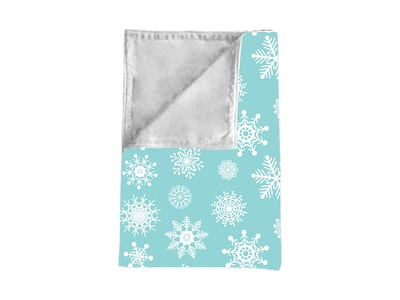 Cot Blankee: Aurora with White Contrast