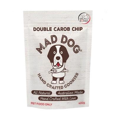 Mad Dog Cookies Mad Dog Cookie Bag Double Carob Chip Dog Treats