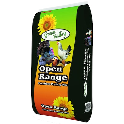 Green Valley Open Range Premium Poultry Feed Mix 20kg