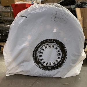 Disposable Wheel Covers - 200 Pieces
