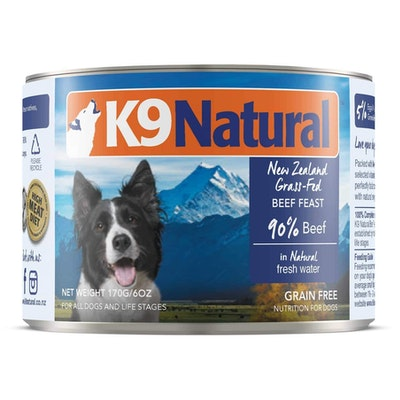 K9 Natural Grain Free Beef Wet Dog Food