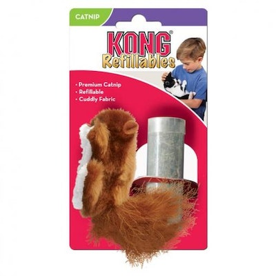 KONG Refillable Squirrel Cat Toy