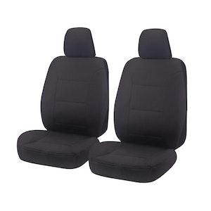 Challenger Car Seat Covers For Mitsubishi Triton Mq-Mr Series Single Cab 2015-2020 | Charcoal