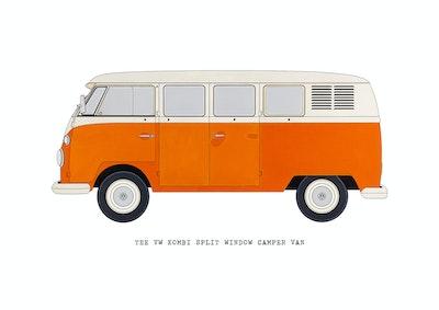 The Volkswagen Split Window Camper Van