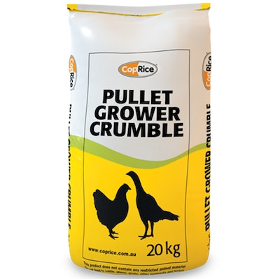 Coprice Pullet Grower Crumbles Replacement Laying Hen Feed Birds 20kg