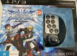 BlazBlue : Calamity Trigger Limited Edition ULTRA RARE PS3 WITH FREE JOYSTICK *Brand New & SEALED*