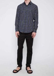 Jac + Jack Wrangell Shirt –Blue Plaid
