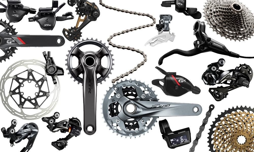Mountain Bike Groupsets Explained