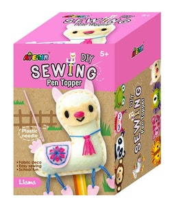 Avenir -  Sewing - Pen Topper - Llama