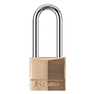 Master Lock 140DLH 40mm Wide Solid Brass Body Padlock with 51mm Shackle