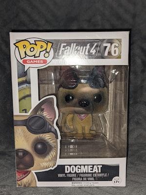Fallout 4 Dogmeat (Flocked) Pop