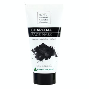 The Australian Cosmetic Company Face Mask Charcoal 50ml Beauty Facial Care