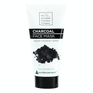 The Australian Cosmetic Company Face Mask Charcoal 50ml Beauty Facial Care