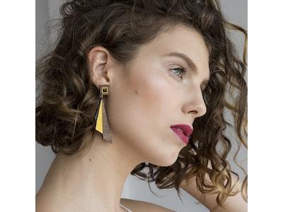Deco Darling Deco Fan Earrings