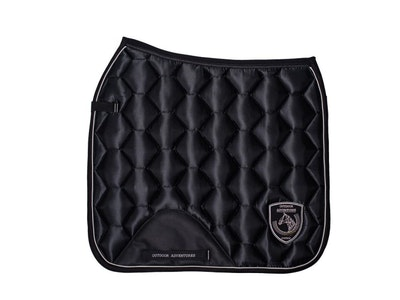 Comco Outdoor Adventures Honeycomb Quilted Satin Saddle Pad - Dressage