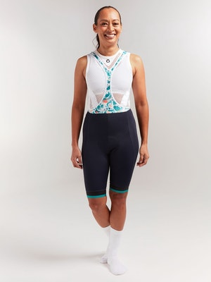Black Sheep Cycling Women's Essentials TEAM Bib - Sakura Green