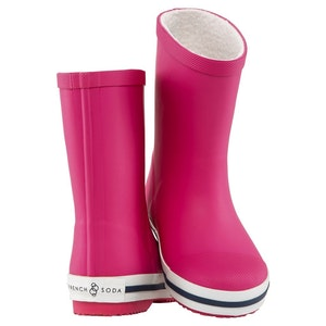 Kids' Rubber Gumboot - Pink