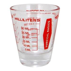 Surgical Basics Measuring Glass Medicine