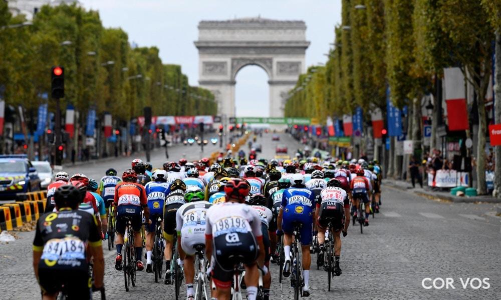 Saca la Champaña, Esta fue la Clausura del Tour de Francia 2018