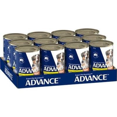 Advance Wet Puppy Food Chicken And Rice 12x410g