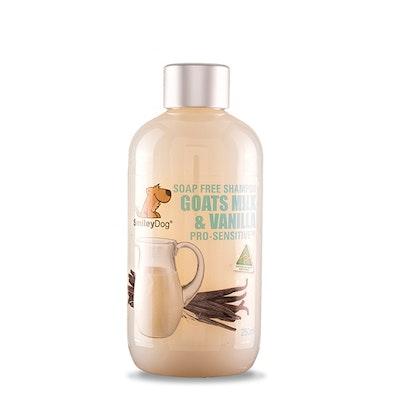 Smiley Dog Natural Goats Milk & Vanilla Pro-Sensitive Shampoo