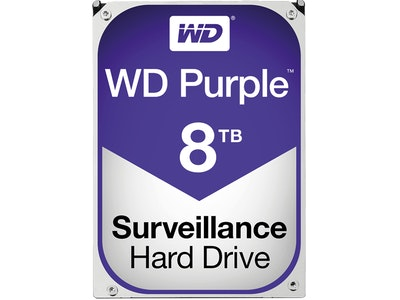 Western Digital (WD) 8TB Purple series hard drive (HDD)