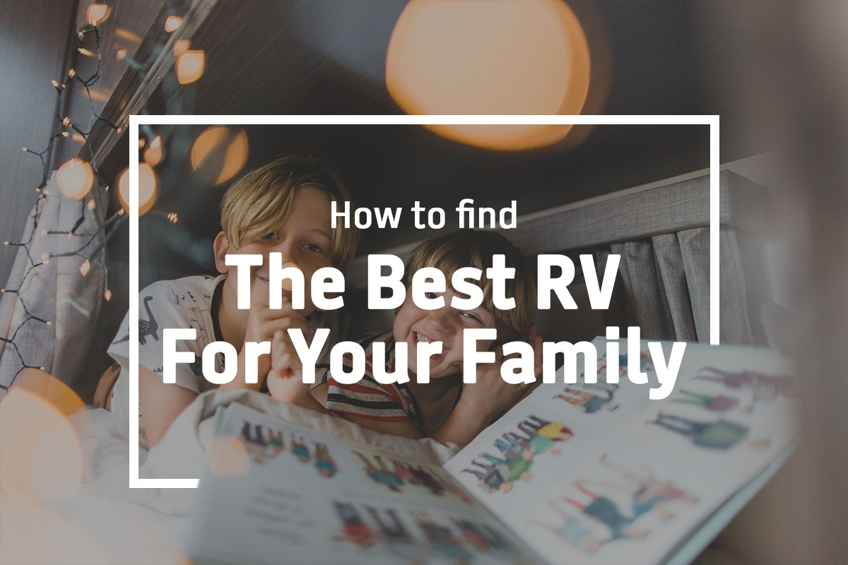 Finding the best RV for your family