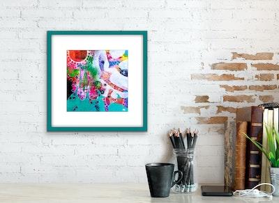 Diilhami Art Seaspray Art Print 300 x 300mm