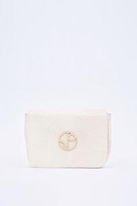 1 People New York Piñatex® Belt Bag in Latte White