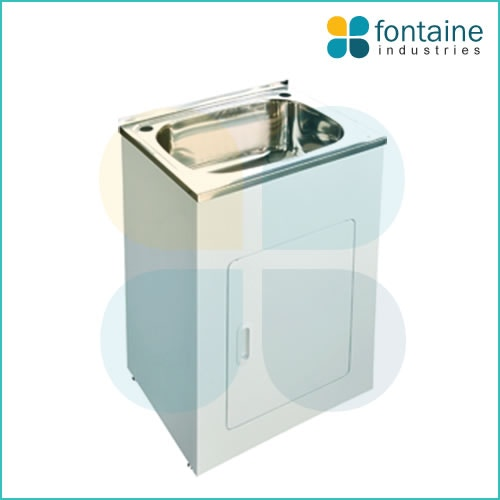 Laundry Trough Cabinet : Crosby Laundry Trough 600 Laundry Trough with Cabinet for sale in ...