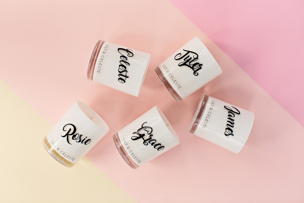 Aroma Luxe Wedding Favours