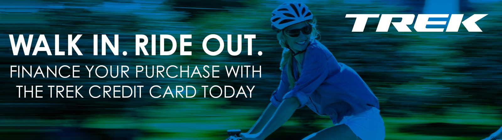 Trek Finance your purchace with Trek Credit today