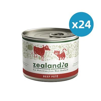ZEALANDIA Beef Pate Cat Wet Food 185g x 24