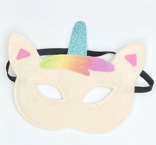 Wool Felt Unicorn Masks