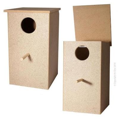 AVIONé Avi One Wooden Large Parrot Nest Box