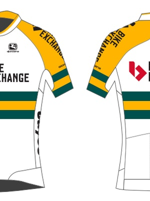Giordana Team BikeExchange Champion of Australia FRC PRO Short Sleeve Jersey