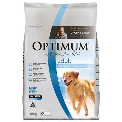 Optimum Adult Chicken, Vegetables & Rice Dry Dog Food