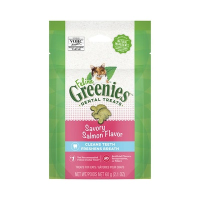 Greenies Feline Salmon 60G